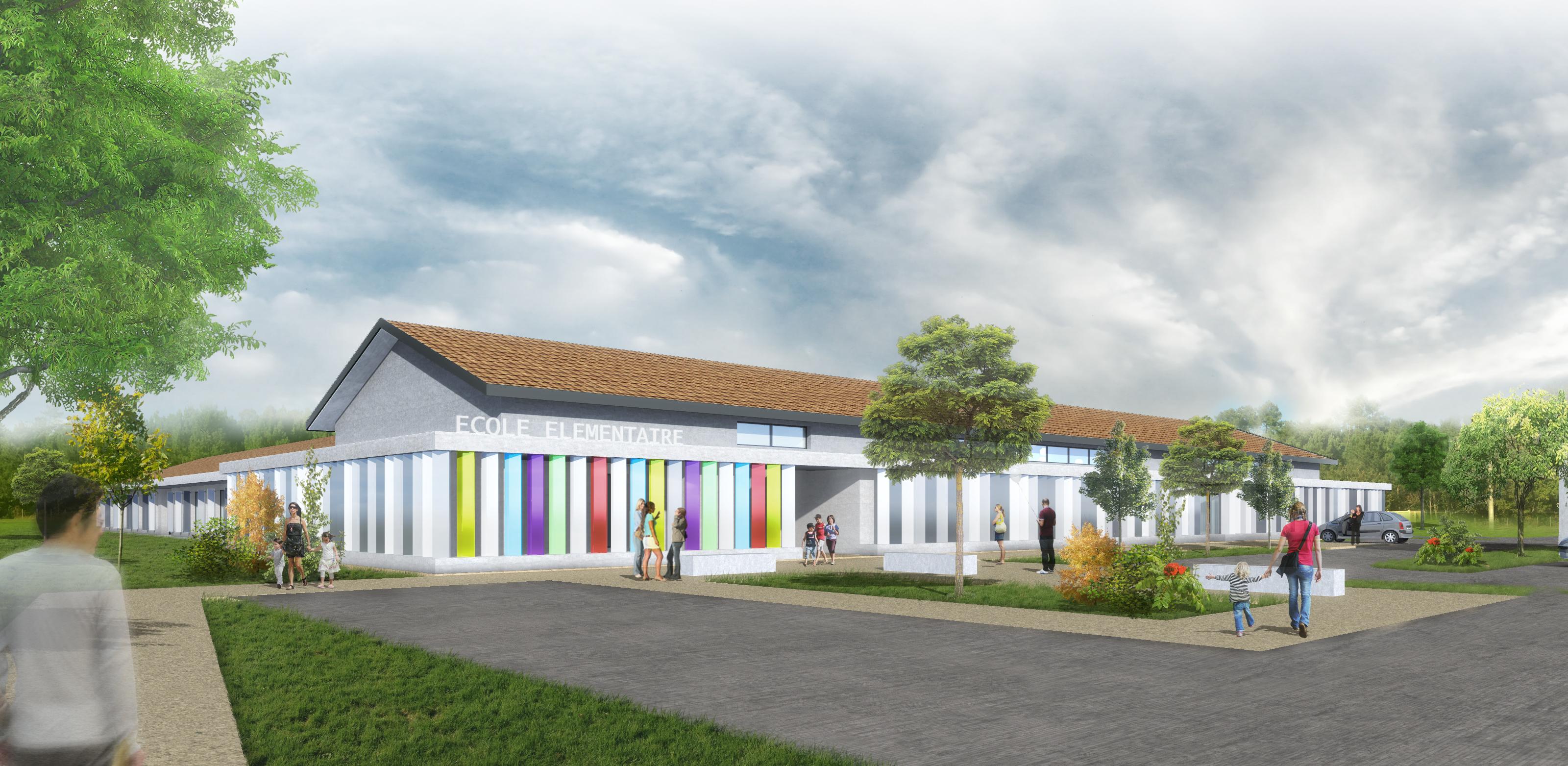 Nouvelle école primaire de Lacanau de Mios