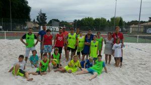Activité BEACH (Volely/tennis/sandball ...)