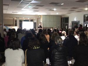 Une centaine de famille a participé à la réunion publique sur la présentation de la refonte de la carte scolaire.