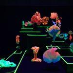 1-serie-des-coraux-coraux-et-coquillages-naturels-sculptures-par-impression-3d-bois-pigments-fluos-lumiere-uv