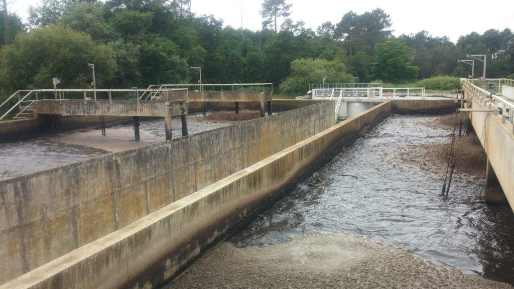 Station de traitement des eaux