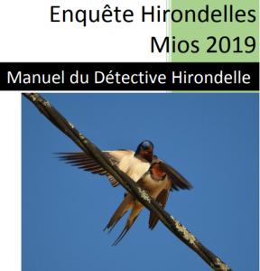 Enquête Hirondelles Mios 2019