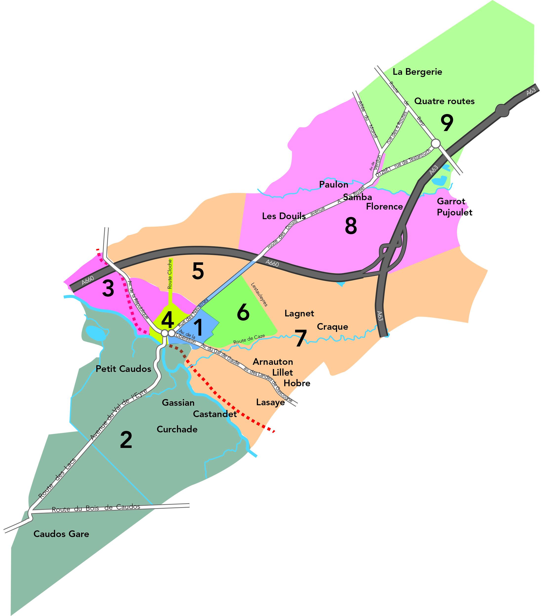 Plan Lacanau De Mios elections | ville de mios